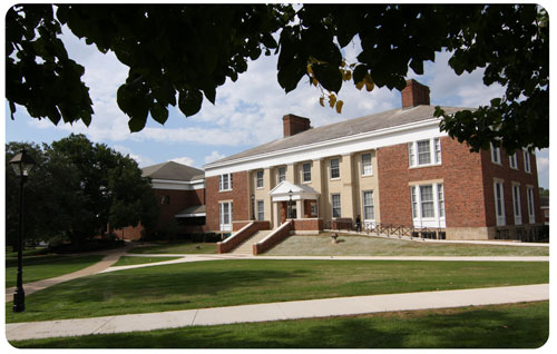 Photo of Albion College Library